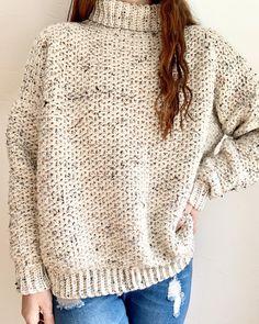 Crochet Patterns For Beginners, Crochet Basics, Fall Knitting Patterns, Easy Crochet, Knit Crochet, Beginner Crochet, Crochet Sweaters, Chunky Crochet, Crochet Cardigan Pattern
