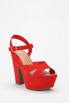 Woah baby platform heels are almost always okay.