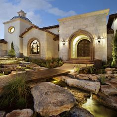Spanish mission style by Jauregui Architecture Interiors Construction