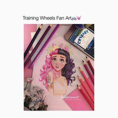 "Omg Fave lyric from training wheels! ""Love Everything you do"" Artist @alefvernonart ♡"