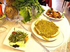Gastronomia catalana: el trinxat, un plat típic de la Cerdanya, que té com ingredients bàsics les trumfes, les cols d'hivern i les rostes.