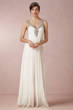 Tia Gown in Bride Wedding Dresses at BHLDN