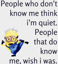 Here we have some of Hilarious jokes Minions and Jokes. Its good news for all minions lover. If you love these Yellow Capsule looking funny Minions then you will surely love these Hilarious joke. Minion Humour, Funny Minion Memes, Funny Jokes To Tell, Crazy Funny Memes, Minions Quotes, Really Funny Memes, Funny Humor, Hilarious Jokes, Funny Stuff