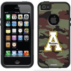 Appalachian State Traditional Camo Design on OtterBox Commuter Series Case for Apple iPhone 5/5s