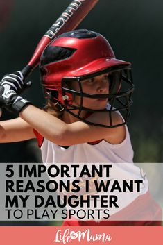 5 Important Reasons I Want My Daughter To Play Sports #sports #kidswhoplaysports #kidathletes #confidence #teamplayer