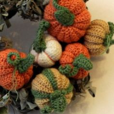 These crochet pumpkins are addictive once you get started.
