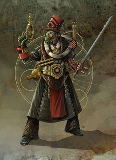 Steampunk Officer by Enkidi.deviantart.com on @deviantART