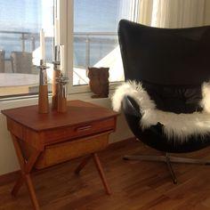(13) FINN – Retro teak sybord/ oppbevaringsbord kr 850