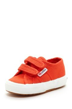 Superga Canvas Velcro Sneaker