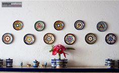 decoracion tradicional boda | Platos de talavera, artesanía mexicana de calidad. Enrique Arellanos