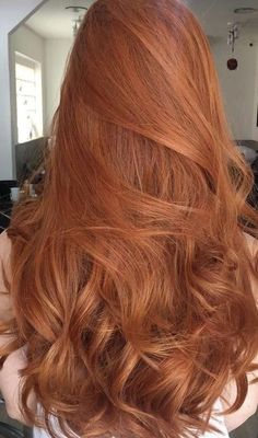 Pink-Red with Yellow Highlights - 20 Cool Styles with Bright Red Hair Color (Updated for - The Trending Hairstyle Lace Hair, Gold Hair, Copper Hair, Ginger Hair Color, Ombre Ginger Hair, Natural Red Hair, Long Red Hair, Brown Hair, Natural Curls