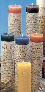 Love these...Reiki Candles -  by Crystal Journey Candles. These Reiki-charged, hand-poured candles come with their own affirmations, burn clean, and have the perfect scent for the meditation.