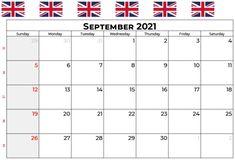 September 2021 Calendar With Holidays US, UK, Canada, Australia, India September Calendar, 12 Month Calendar, Holiday Calendar, 2019 Calendar, December, Excel Calendar, Blank Calendar, Calendar Templates, September Equinox