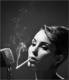 Perfect in black and white: Noomi Rapace