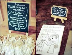Wedding Favor Bubbles and Coloring Sheets