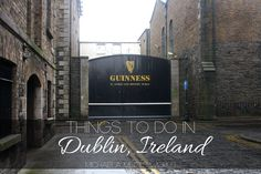 Everything you need to know for your trip to Ireland!