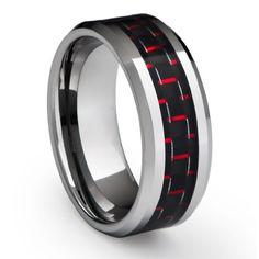13 Best Carbon Fiber Wedding Rings Images Wedding Rings Rings