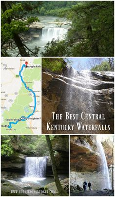 Central Kentucky has some of the most beautiful waterfalls! Check out our favorites - Cumberland Falls, Eagle, Yahoo, Anglin, Dog Slaughter & more!