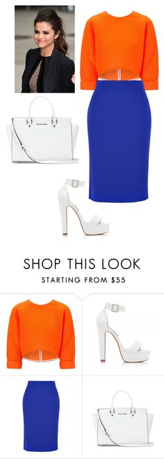 """""""Untitled #10"""" by segura-priscilla ❤ liked on Polyvore featuring Maticevski, Forever New, Alexander McQueen, MICHAEL Michael Kors, women's clothing, women's fashion, women, female, woman and misses"""
