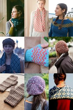 Color-work patterns for first-timers ~ Great knitting blog