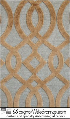 Champs-Elysees  Chenille Trellis Lattice Fabric  [FAF-15899] Chenille Fabric | DesignerWallcoverings.com ™ - Your One Stop Showroom for Custom, Natural, & Specialty Wallcoverings | Largest Selection of Wall Papers | World Wide Showroom | Wallpaper Printers