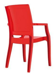 Eetkamerstoel Arthur Rood http://www.designmeubelzaak.nl/eetkamerstoel-arthur-rood.html