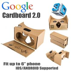 2016 New Version Google cardboard 2 vr box vr shinecon Rift Oculus Version virtual reality vr glasses for 3.5-6 inch smart phone