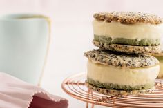 We love matcha! The green tea powder is widely used in Japan, and it's gaining traction here, too. Pair it with sesame and white chocolate and you're ready to roll.