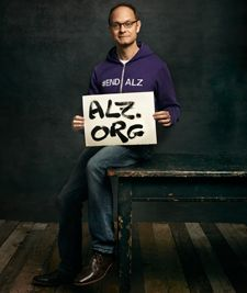 As an Alzheimer's Association Celebrity Champion, actor David Hyde Pierce is committed to the fight against Alzheimer's disease.  www.alz.org/wam