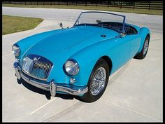 1957 MG A Convertible 1500 CC, presented as lot at Kissimmee, FL 2013 - British Sports Cars, Classic Sports Cars, Classic Cars, British Car, Bmw 507, Mg Cars, Sport Cars, Cars And Motorcycles, Cars For Sale