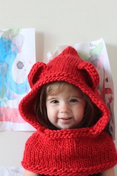 Hey, I found this really awesome Etsy listing at https://www.etsy.com/listing/113189200/hand-knit-hood-and-cowl-for-toddler