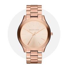 Michael Kors Slim Runway Rose Gold Mk3197 Michael Kors Watch, Runway, Rose Gold, Slim, Watches, Accessories, Cat Walk, Walkway, Wristwatches