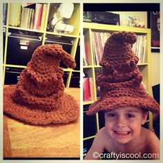 CRAFTYisCOOL: Free Patterns/Harry Potter Sorting Hat