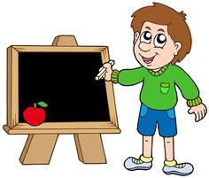 School boy writing on blackboard vector image on VectorStock Blackboards, School Boy, Drawing For Kids, Vector Free, Family Guy, Classroom, Drawings, Fictional Characters, Illustrations