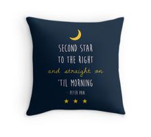 Peter Pan Throw Pillow                                                                                                                                                                                 More