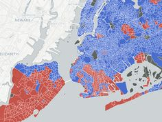 Did your NYC neighborhood vote for Donald Trump or Hillary Clinton?