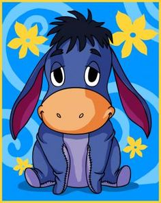 How to Draw Baby Eeyore, Step by Step, Disney Characters, Cartoons, Draw Cartoon Characters, FREE Online Drawing Tutorial, Added by Dawn, October 8, 2009, 7:05:05 pm