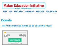 Lets help MakerEd reach their goal