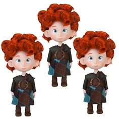 Triplets Doll Set - Brave