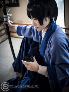 Rurouni Kenshin - Soujirou Seta - Cosplay (published by Hunter Mihael Keehl on Cure WorldCosplay)