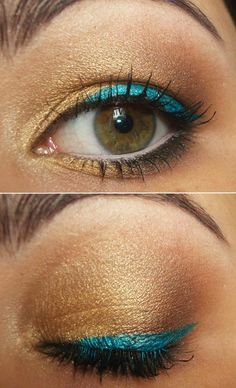 I love this look. Gonna step-up my make-up game.........