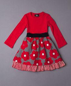 Moma Petticoat Dress - Toddler & Girls #zulily *so cute