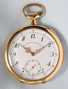 "A fine Patek Philippe extra slim 18K yellow gold ""special"" minute repeater antique pocket watch circa 1906."