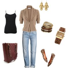 Casual weekend outfit, created by tsteele.polyvore.com