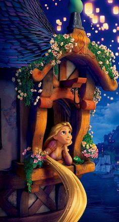 Images Rapunzel at window - Google Search