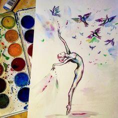 #рисунок #акварель #рисовашки #ярисую #watercolor #drawing #inspiration #instaart