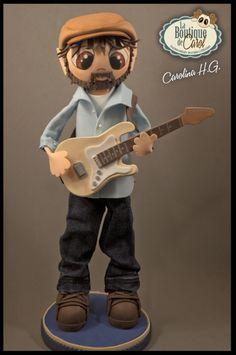 Fofucho guitarrista personalizado