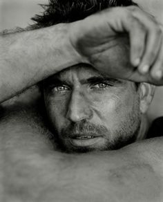Mel Gibson by Herb Ritts (before booze got the better of him).  He was so breathtakingly handsome!