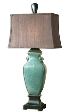 Special Offers - Turquoise Blue Crackle Table Lamp - In stock & Free Shipping. You can save more money! Check It (August 14 2016 at 10:05PM) >> http://tablelampusa.net/turquoise-blue-crackle-table-lamp/