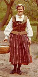 Öland (Kalmar) women's costume